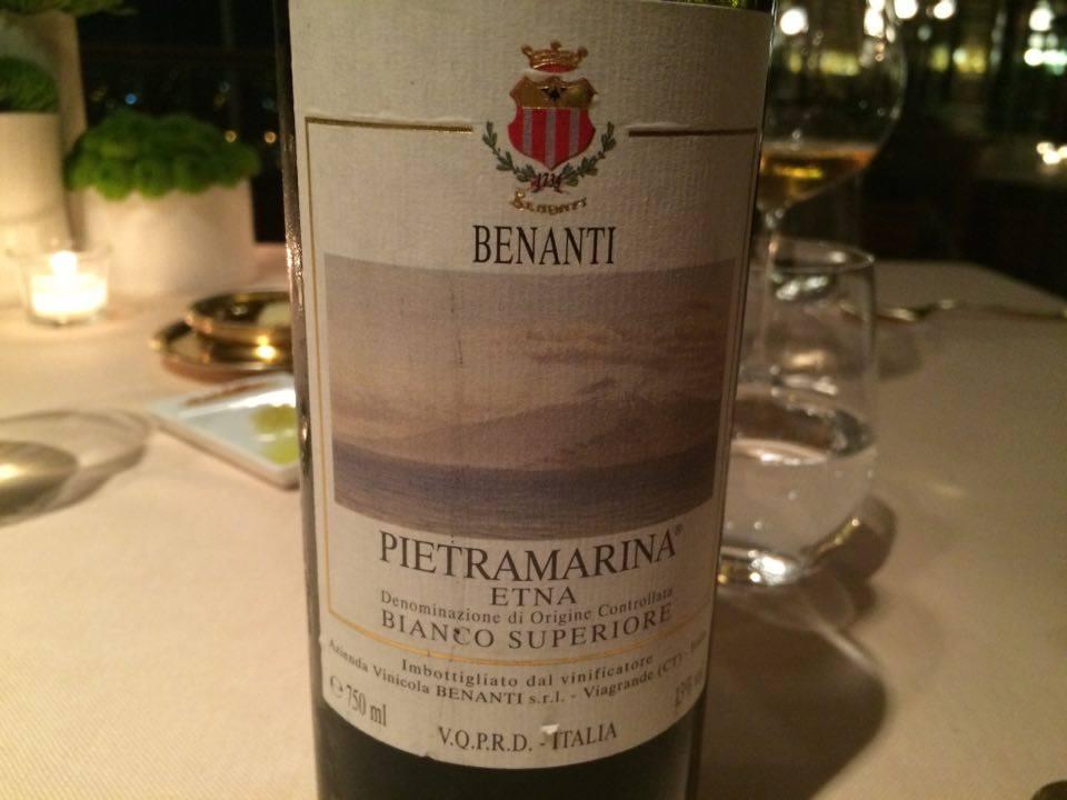Pietramarina 2001 Benanti