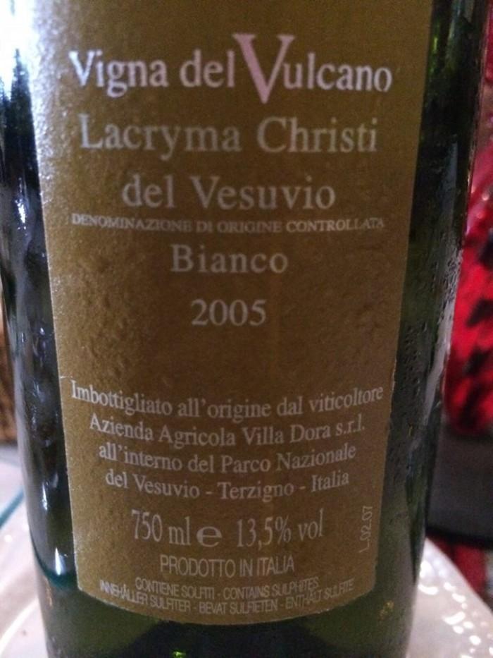 Lacryma Christi del Vesuvio