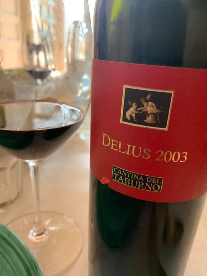 Delius 2003 Cantina del Taburno