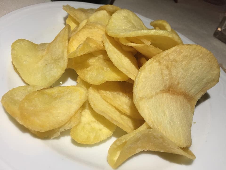 Porta Sirena a Paestum, patate fritte