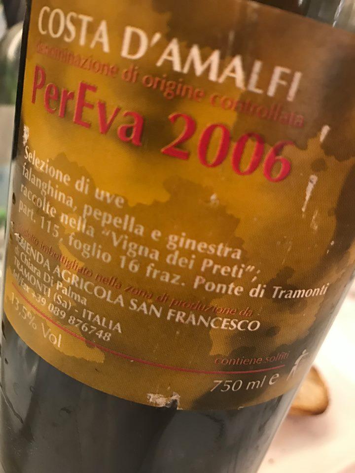 Per Eva 2006 Costa d'Amalfi doc