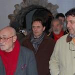 La calorosa visita con il grande Antonio Caggiano