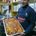 La lasagna della gastronomia Pierri