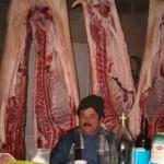 Dopo l'uccisione del maiale, si mangia