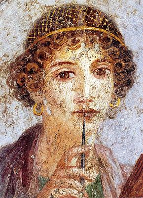 La poetessa Saffo