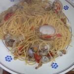 Spaghetti ai frutti di mare con colatura di alici di Cetara