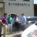 Bottura stamattina a Rivabianca