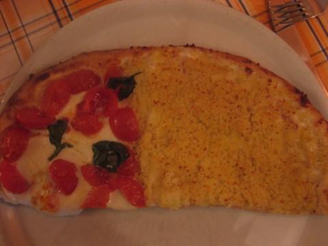 Due pizze: al filetto e il fiocco