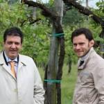 Castelvetro, in vigna con Enrico Manzini (foto Marta Geri)