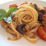 Spaghetti alla puttanesca, la variante confit