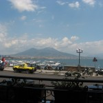 Cantinella, vista sul Vesuvio