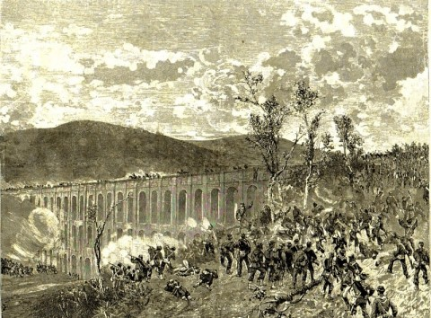 La battaglia del 1 ottobre 1861