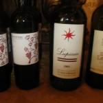I quattro vini da uve Cabernet