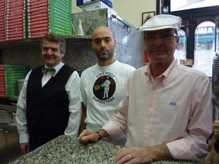 Antonio, Stefano e Ugo Cafasso
