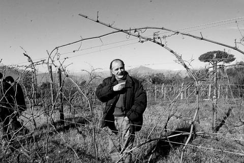 Roberto Selvaggi. Galardi, dicembre 1999. Foto di Tano Pecoraro