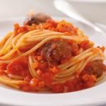 Spaghetti con polpette