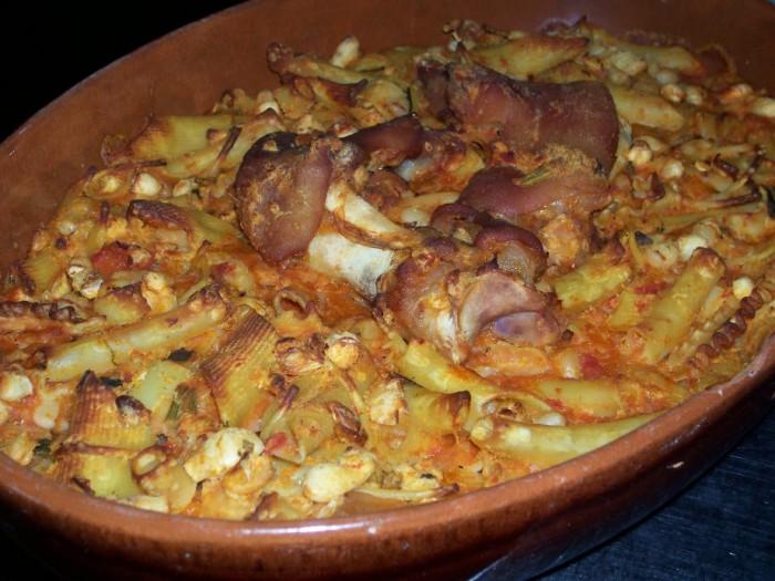 La pasta e fagioli di Tenuta Montelaura