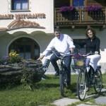 Mattias e manuela in bici