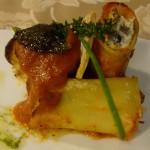 Paccheri con Chiodini dei Lattari su crema di Peperone Cazzone di Luna Galante  - foto di Monica Piscitelli