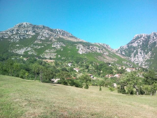 Panorama da Casale Vitelli, colline cusanesi