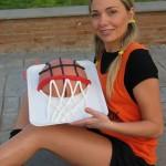 La torta a palla di Claudia Deb