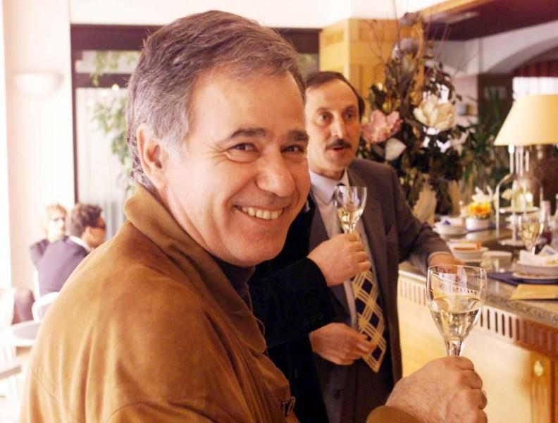 Corrado D'Ambra, primo presidente del Movimento Turismo del Vino. Scomparso nel 2005