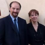 Elisabetta Tosi e Giampiero Nadali