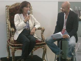 Fiammetta Fadda nella mitica intervista rilasciata a Pietro Pompili a Squisito 2008