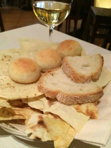 Osteria dell'Arco, il pane