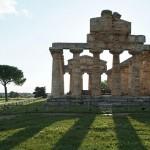 Paestum, uno scorcio dei templi