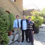 Da sinistra Luciano Pignataro, Paul White e Lello Tornatore