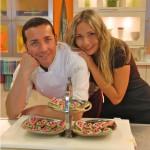 Gino Sorbillo e Claudia Deb