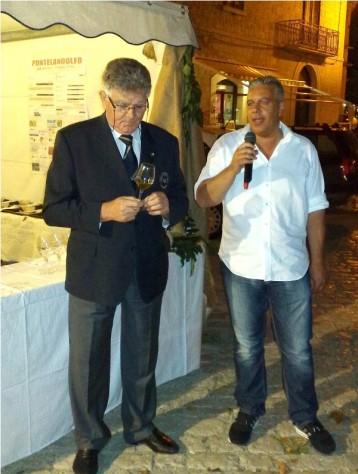 Michele Giordano con Giancarlo Rinaldi