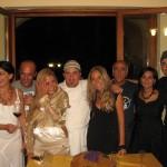 Da sinistra: Marina Alaimo, Gerardo Vernazzaro, Romina Sodano, Pasquale Torrente, Claudia Deb, Rosario Mattera, Emanuela Russo