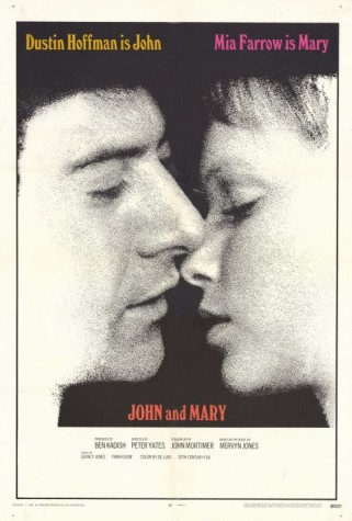 La locandina del film 'John and Mary'