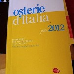 Osterie d'Italia 2012