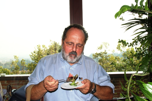 Paolo Marchi alle Strade della Mozzarella
