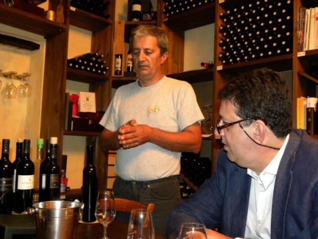 Roberto Bisconte con Luciano
