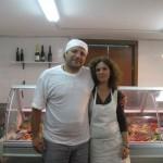 Alessandro Persico e sua moglie Viola