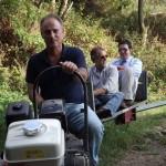 Con Fabrizio Scarpato, alla guida Walter de Batté (Le foto sono di Marco Rezzano)