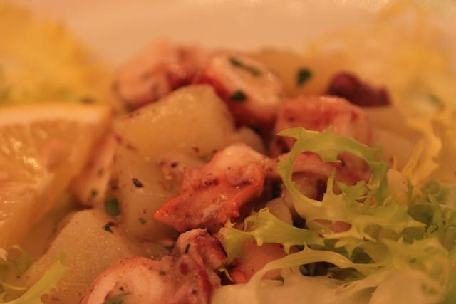 Ristorante Umberto. Polpo e patate