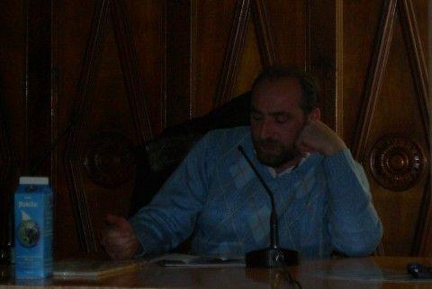 Lucio Mideo, vicepresidente del consorzio allevatori