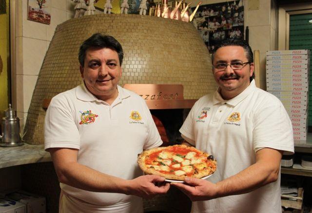 Pizzeria Capatosta. Enzo e Lello Giustiniani