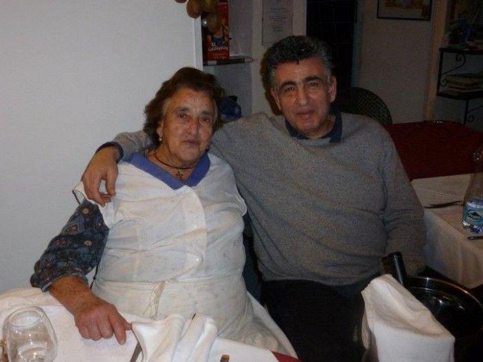 Bar Mare Petit Restaurant, Donna Clelia e suo figlio Salvatore Ferraioli