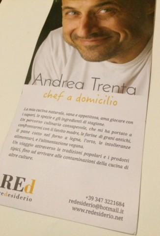 ReDesiderio, lo chef Andrea Trenta