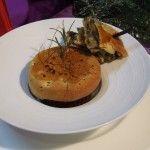 Zuppetta di stoccadisso in crosta di pane e pizza di scarola ripiena