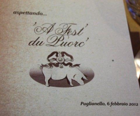 La cucina del maiale protagonista a Puglianello
