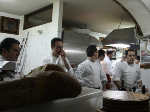 I preparativi in cucina