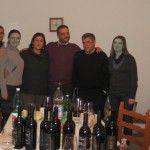 dalla sinistra: Mimmo Gagliardi, Gianna De Lucia, Patrizia Iannella, Gaetano Palumbo, Paolo Mazzola, Brigida Bisesto