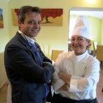 Raffaele Tralice contitolare de 'Il Casolare Divino' e la chef Maria Mone